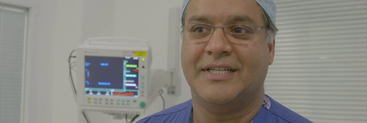 Raj Persad talks about robotic surgery